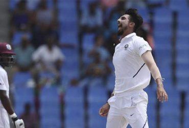 IND vs WI - Ishant Sharma's magical performance