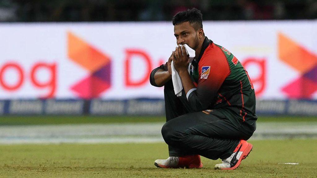 ICC bans Shakib Al Hasan from International Cricket