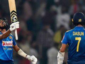 Oshada Fernando scored a heart-warming 50 runs on the day of his debut in the international Pak vs SL T20.