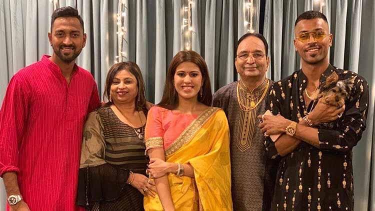 Hardik Pandya Family