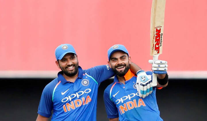 Virat Kohli and Rohit Sharma deadly duo of Indian cricket