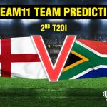 England vs South Africa 2nd T20I Dream11 Team prediction | Match prediction