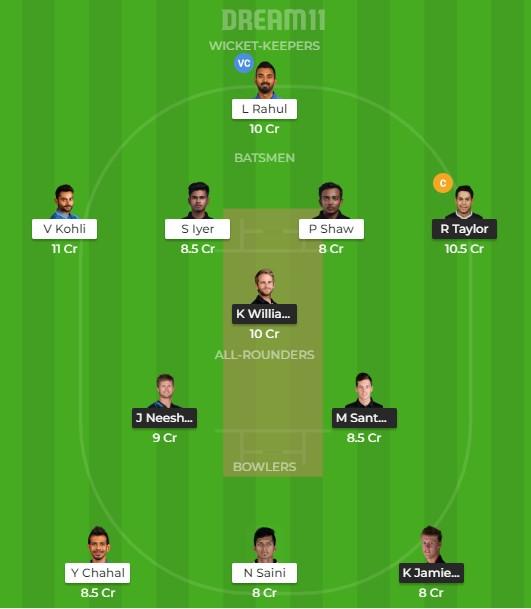 IND vs NZ 3rd ODI Dream11 Team prediction | Match prediction