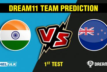 India vs New Zealand 1st Test Dream11 Team prediction   Match prediction