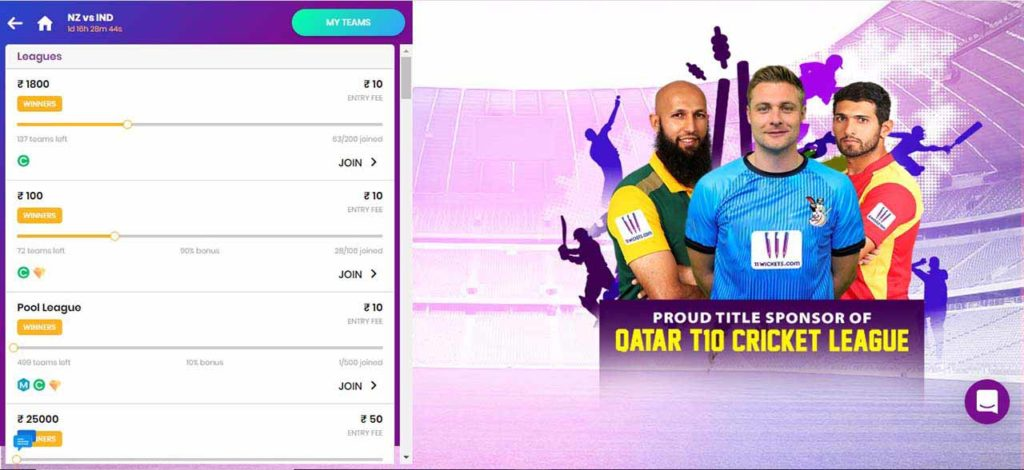 11 Wickets Contest