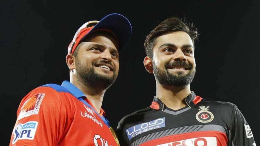Suresh Raina and Virat Kohli are the only two Cricketers in the IPL history to have scored 5000+ runs. Virat has 5412 runs, and Raina has 5368 runs to his name.