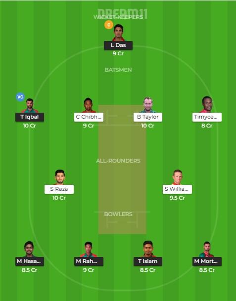 Dream11 expert team 1