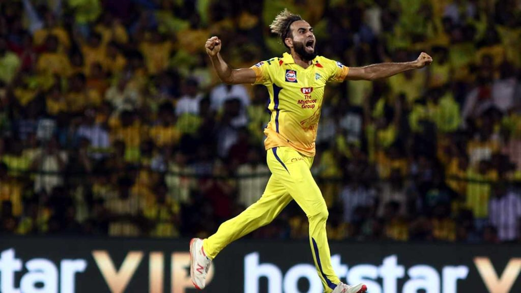 The Purple Cap was awarded to Imran Tahir of CSK for claiming 26 wickets in IPL 209.