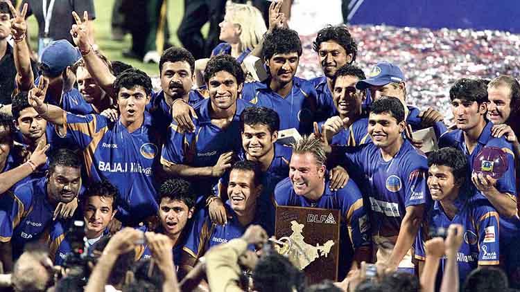 # 1 Rajasthan Royals (164/7) Vs Chennai Super Kings (163/5) in  IPL 2008