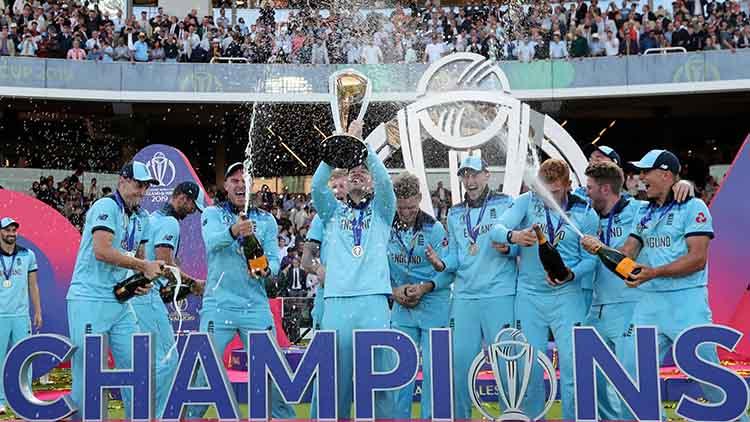 2019 – England finally won the ICC Cricket World Cup