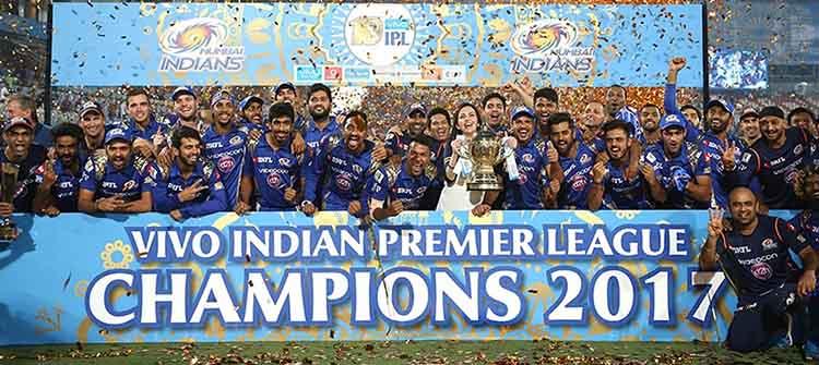 #2 Mumbai Indians (129/7) Against Rising Pune Supergiant (128/6) in IPL Final 2017