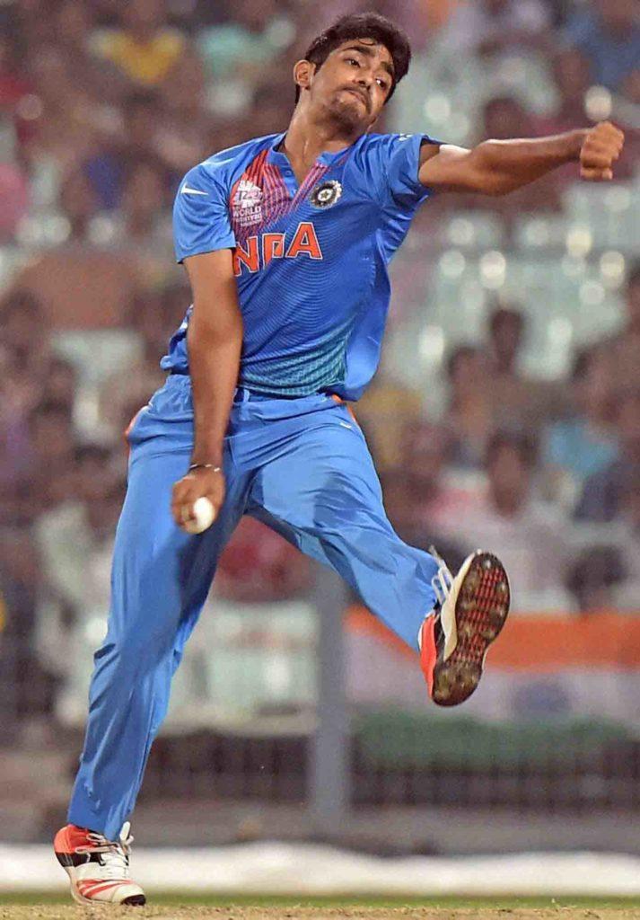 Jasprit Bumrah (India) - bowling action