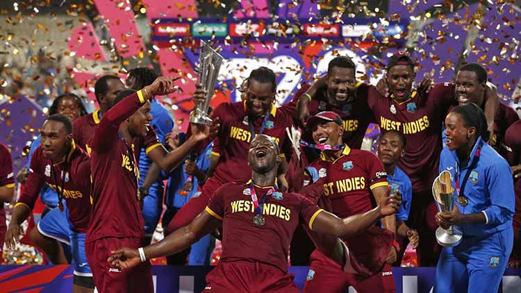 2016 – West Indies T20 World Cup win in India