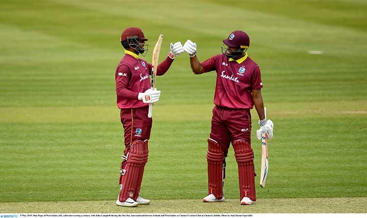 John Campbell and Shai Hope – West Indies Vs Ireland – 365 Runs