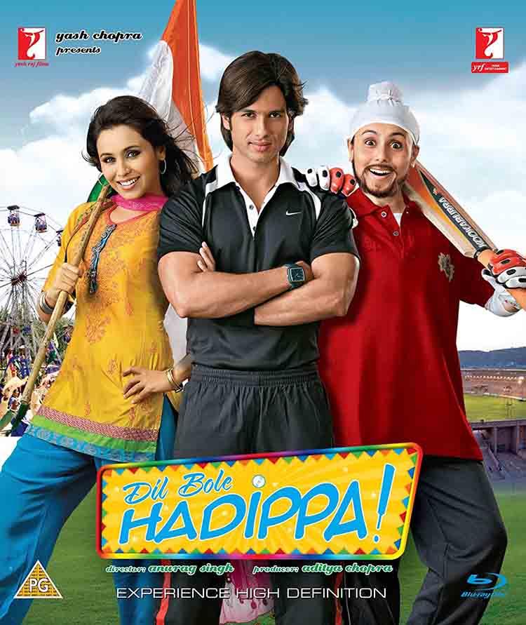 Dil Bole Hadippa (2009) - Hindi cricket movies