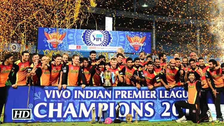 2016 IPL Winner – Sunrisers Hyderabad
