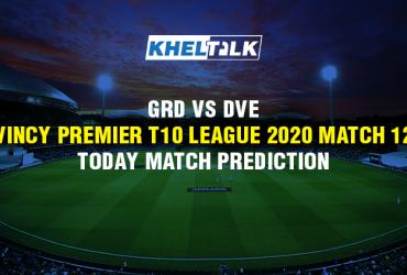Today Match Prediction - GRD vs DVE - Vincy Premier T10 League - Match 12