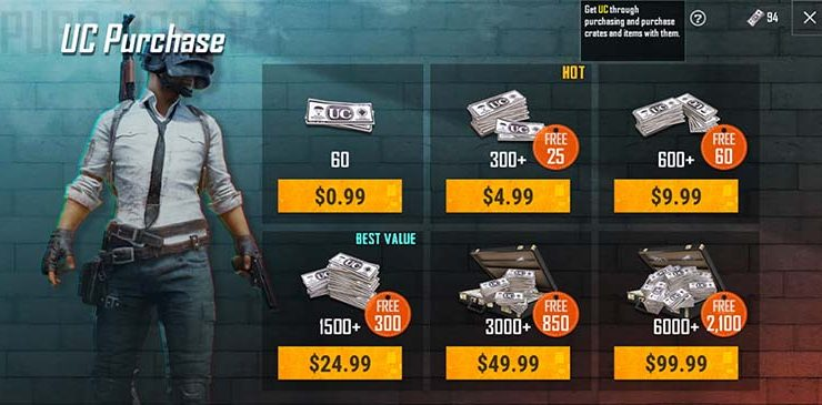 PUBG Mobile Guide – 3 ways to get free Pubg UC in Season 13