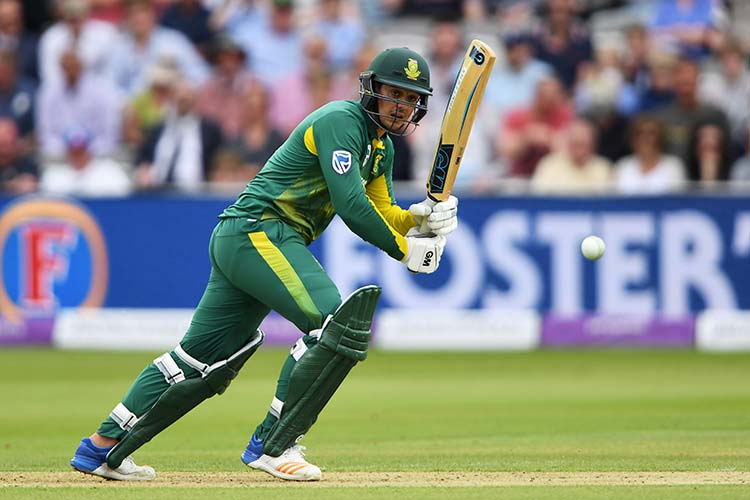 Cricketer of the Year Quinton de Kock (South Africa)