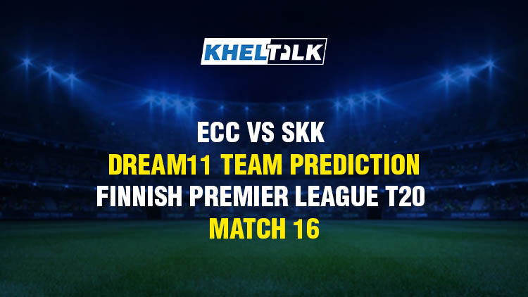 ECC vs SKK Dream11 Team Prediction & Match Prediction – Finnish Premier League T20 – Match 16