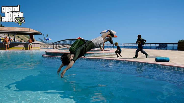 GTA5 Guide: How to swim in GTA 5?