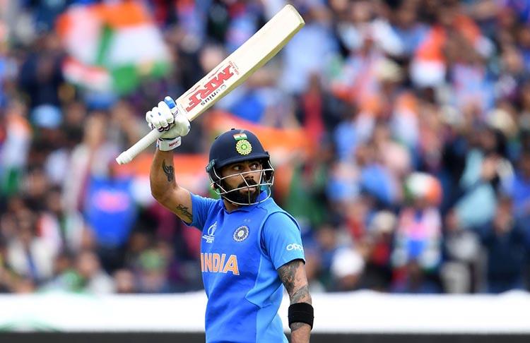 Virat Kohli - 102 ODI Matches