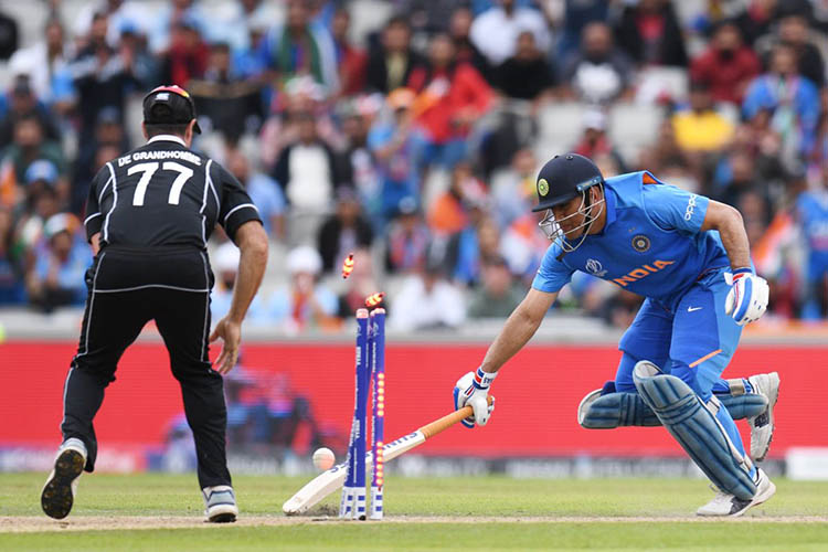 Dhoni's Last Match for India?