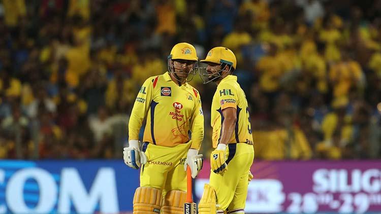 Dhoni and Raina's 71 Runs Partnership against Rajasthan Royals