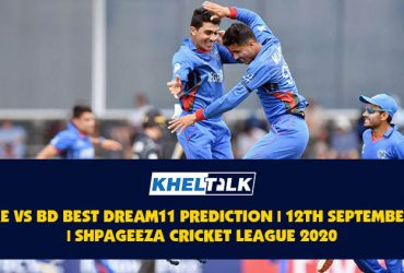 KE vs BD Best Dream11 Prediction | 12th September | Shpageeza Cricket League 2020