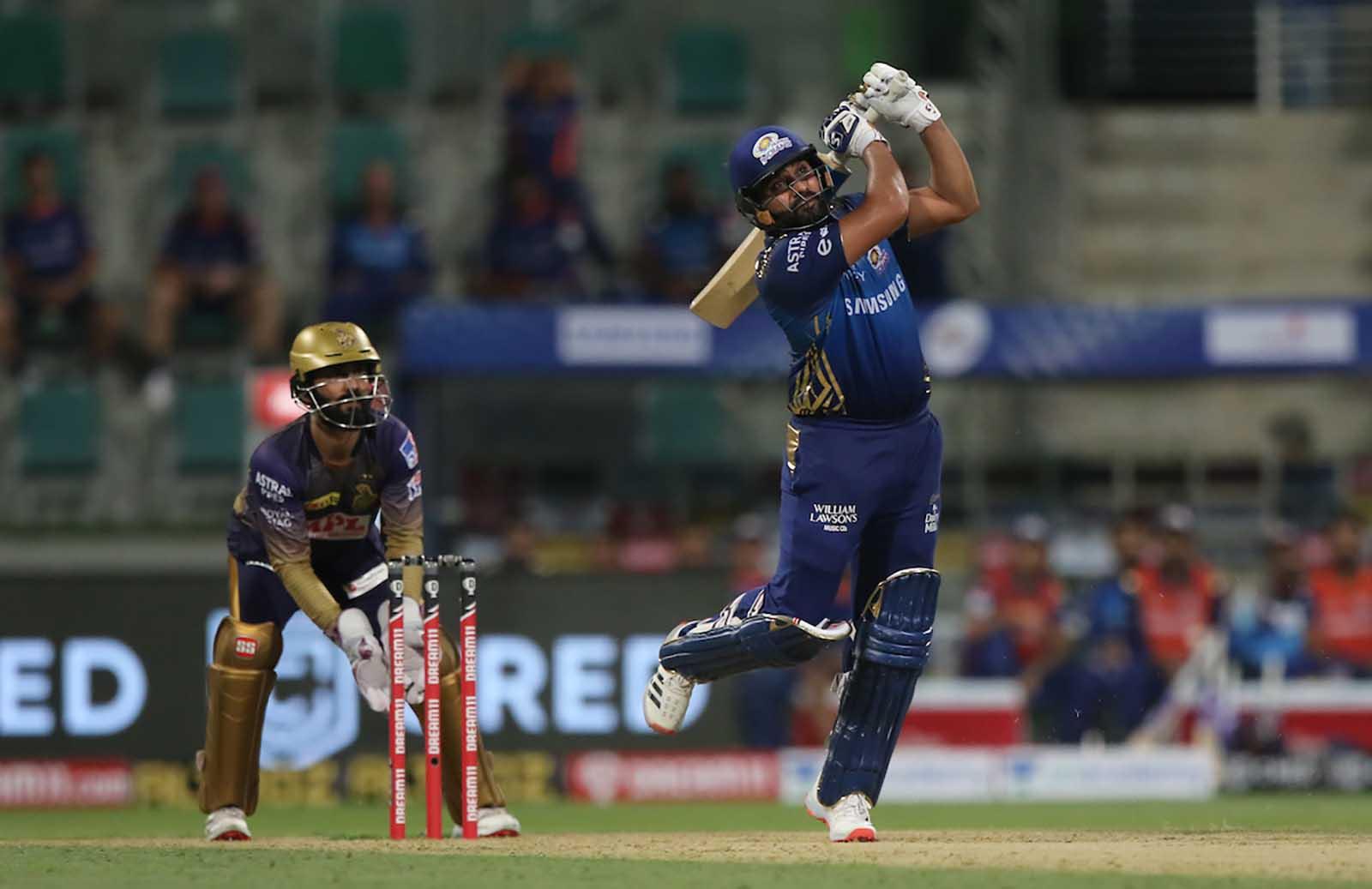Rohit Sharma shines as Mumbai Indians wins it over KKR by 49 runs