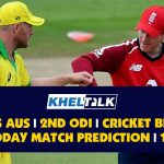 ENG vs AUS | 2nd ODI | Cricket Betting Tips | Today Match Prediction | 13th September