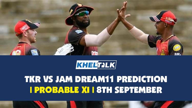 TKR vs JAM Dream11 Prediction