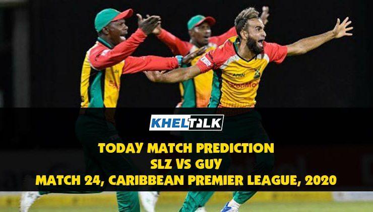 SLZ vs GUY |Today Match Prediction