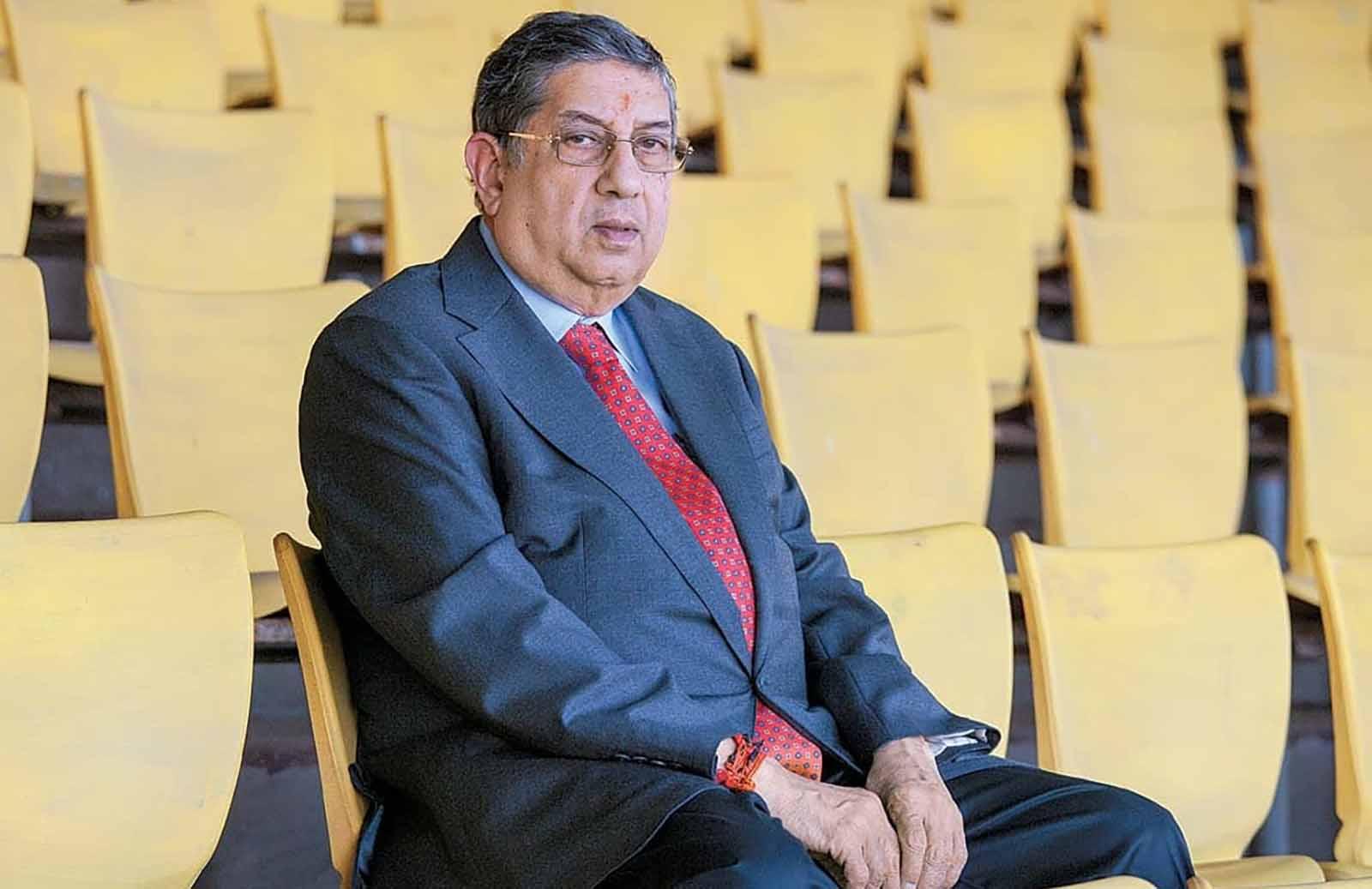 'Suresh Raina like son. But don't own him,' says N. Srinivasan