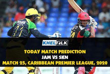 JAM vs SKN |Today Match Prediction