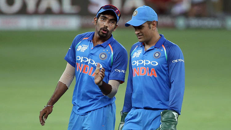 Jasprit Bumrah throws light on his first interaction with MS Dhoni during his debut in Australia