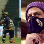 'You Still Have To Score 158 Runs' – Shah Rukh Khan Hilariously Trolls Rahul Tripathi at KKR's anthem launch