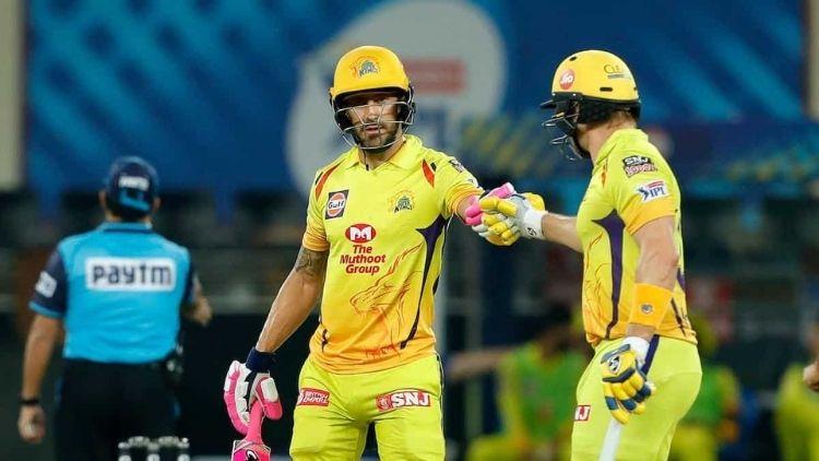 181* runs: S Watson and Faf du Plessis, CSK vs KXIP, IPL 2020