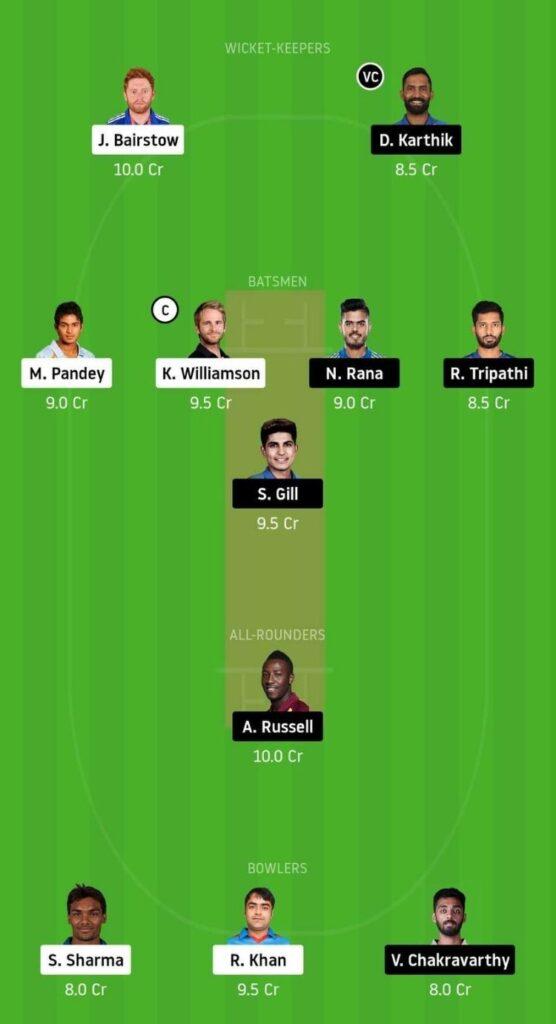 Grand League SRH vs KKR