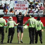 Two Protesters Invade Sydney Cricket Ground During 1st ODI With Placards Against Adani Project