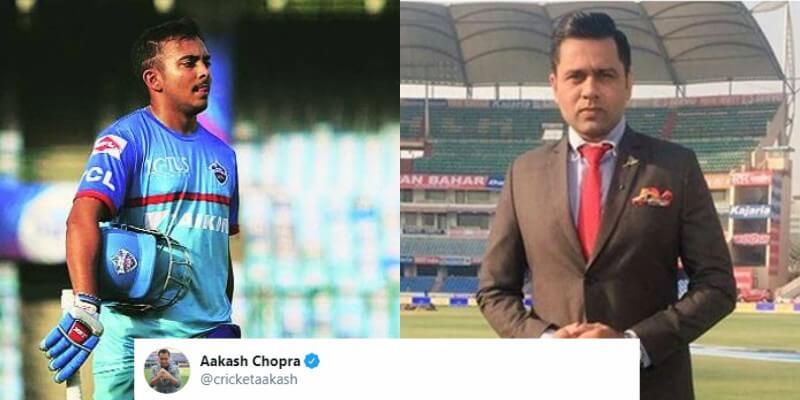 Aakash Chopra Slams Rishabh Pant And Prithvi Shaw