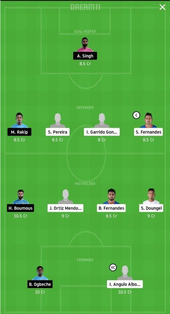 FCG vs MCFC Dream11 Match Prediction | Football Fantasy | India Super League | 25 Nov 2020 grand league