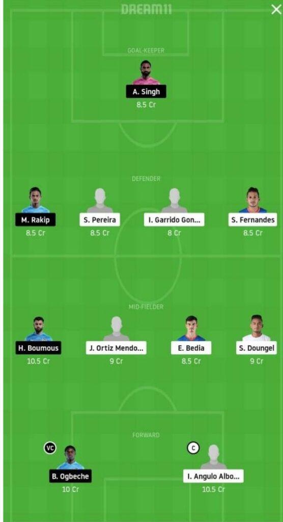 FCG vs MCFC Dream11 Match Prediction | Football Fantasy | India Super League | 25 Nov 2020 head to head