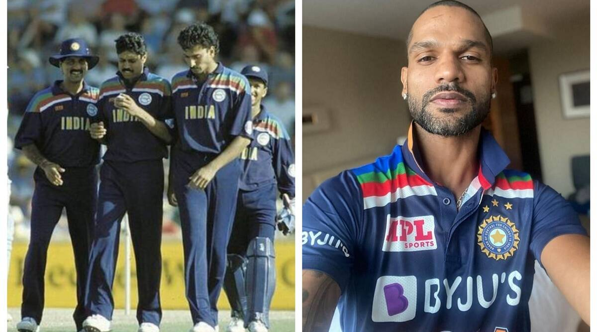 India To Wear 1992 World Cup Jersey In ODIs Against Australia