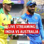 India vs Australia Live Streaming updates