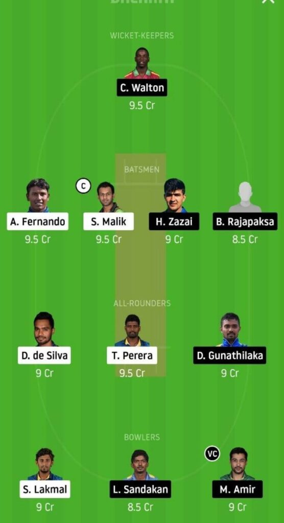JS vs GG Dream11 Team Prediction _ Match 2 _ Lanka Premier League _ 27th Nov 2020 Grand League