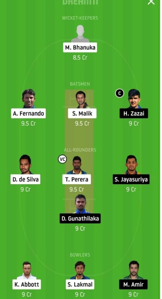 JS vs GG Dream11 Team Prediction _ Match 2 _ Lanka Premier League _ 27th Nov 2020 Head to Head