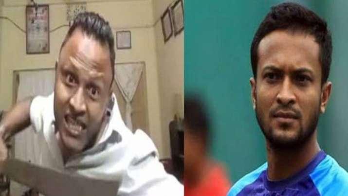 Man Threatens To Cut Shakib Al Hasan To Pieces, Bangladesh All-Rounder Receives Death Threat