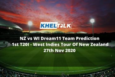 NZ vs WI Dream11 Team Prediction   1st T20I   West Indies Tour Of New Zealand   27th Nov 2020