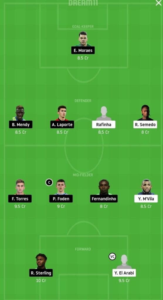 OLY vs MCI Dream11 Match Prediction _ Football Fantasy _ UEFA Champions League _ 25 Nov Grand League